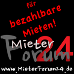 Banner - MieterForum24 - 250 x 250 pixel